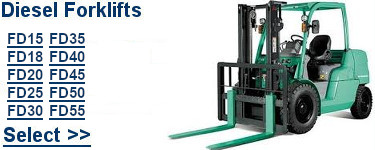 Select Mitsubishi Diesel Forklifts