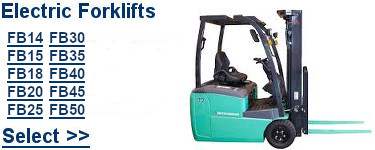 Select Mitsubishi Electric Forklifts